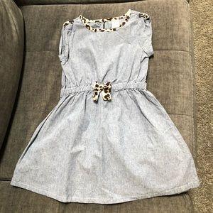 Girls size 7 Gymboree denim-look dress